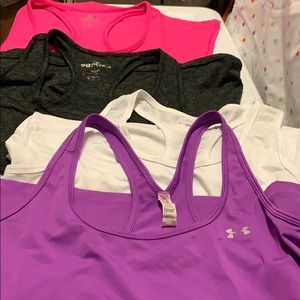 Work out tops Under armour 90 degree by reflex